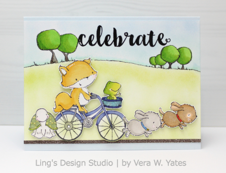 Vera Yates - Free Spirits Celebrate Card
