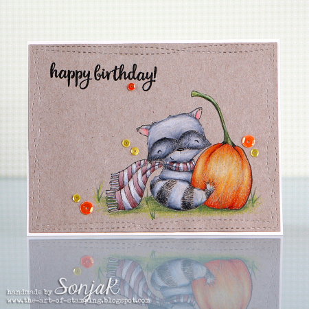 Sonja Kerkhoffs - Ginger Birthday Card