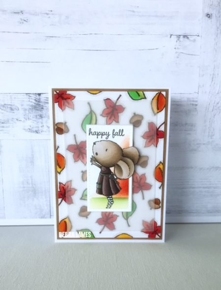 Debra james - wishing fall card