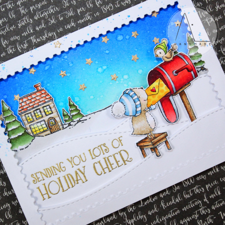 Anna Lorenzetto - Nora and Butter Sweet Home Card