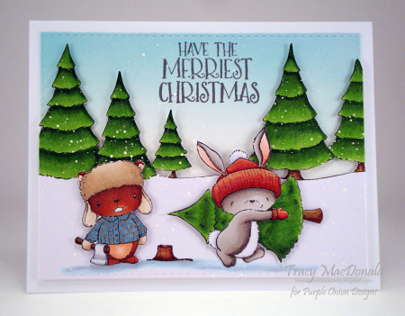 Tracy MacDonald - Red and Claus Card