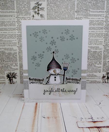 Debra James - Snowy Card