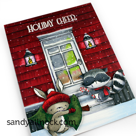 Sandy-Allnock-Front Door Claus and Ash