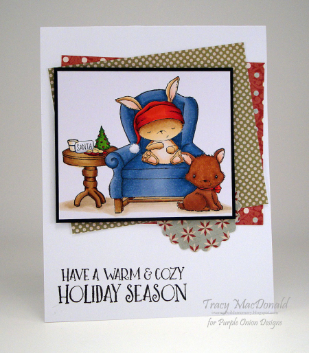 Tracy MacDonald - Sugar Plum and Peppermint Card