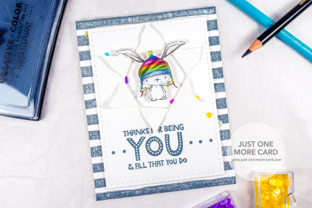 Julia Altermann - Birch Thanks for Being You Card