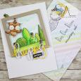 Anna Lorenzetto - Lilly Garden Bushes Happy Birthday Card with envelope
