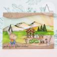 Anna Lorenzetto - Veggie Garden Mountain Card