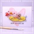 Agnieszka Danek-Wisniak - T-Bird Heart Balloon Card