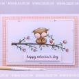 Agnieszka Danek-Wisniak - Sweetheart Blossoming Branch Valentines Card