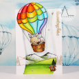Anna Lorenzetto - Up and Away card