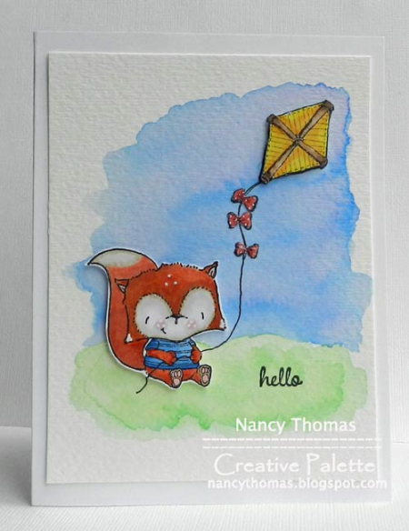 Nancy Thomas POD Oscar Kite