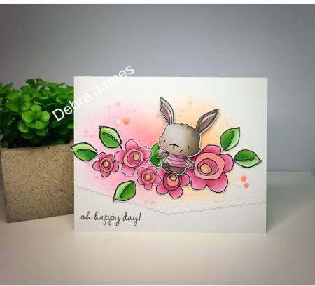 Debra James - Willa Oh Happy Day Card