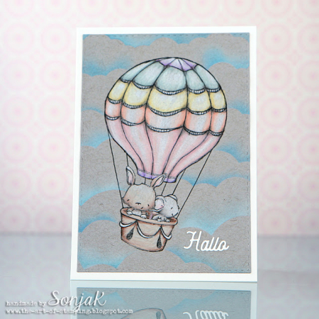 Sonja Kerkhoffs - Up and Away Card