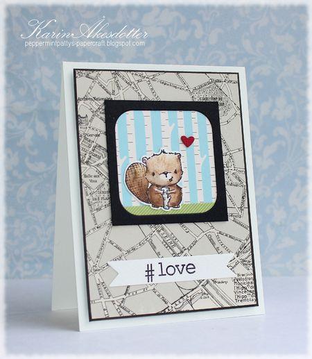 Karin Akesdotter - Timber #love card