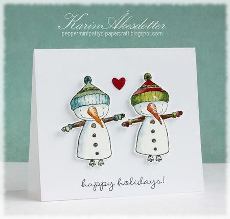 Karin Akesdotter - Joe Happy Holidays Card - side