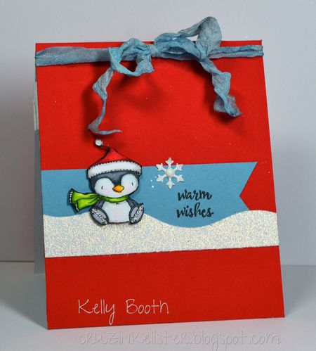 Kelly Booth - A Charming Winter Card