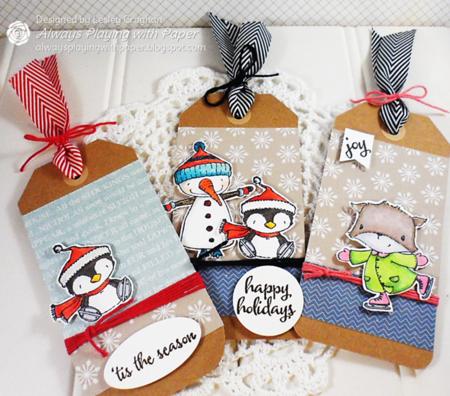 Lesley Croghan - Christmas Tags