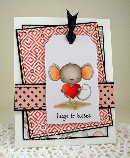 Tracy McDonald - Heartfelt Hugs and Kisses Card