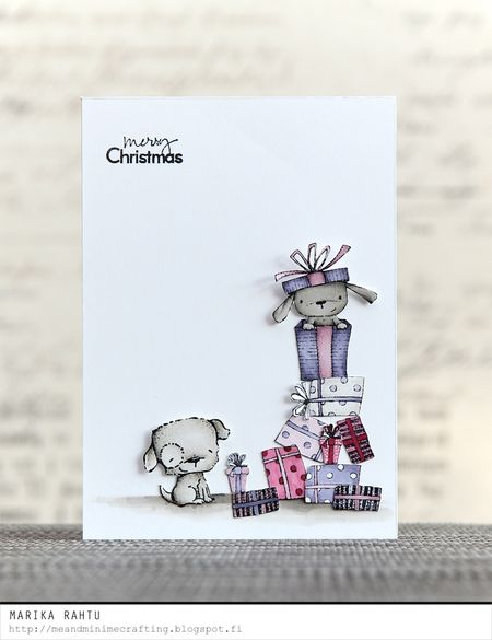 Marika Rahtu - Elm, Puddles and Presents Card