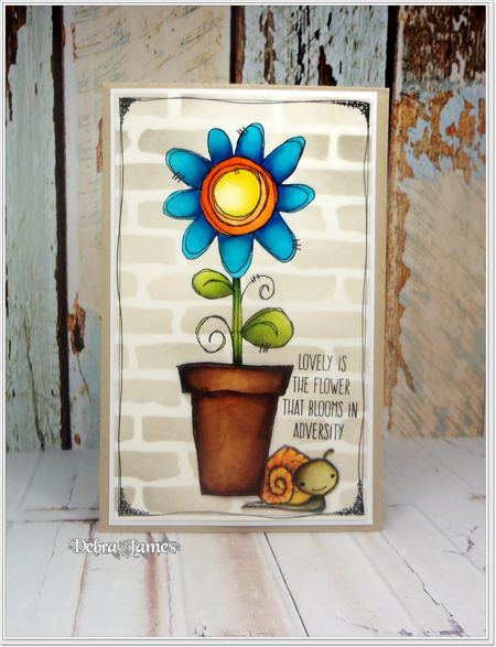 Debra James - Pot-a-Flower