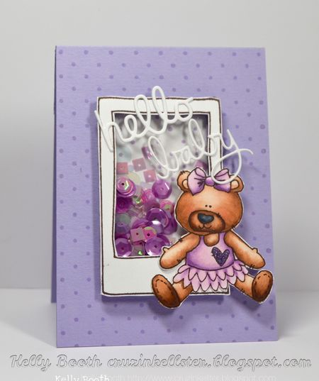 Kelly Booth - Happy Baby Olivia Card
