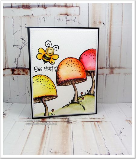 Debra James - Toadstool and Love Bug