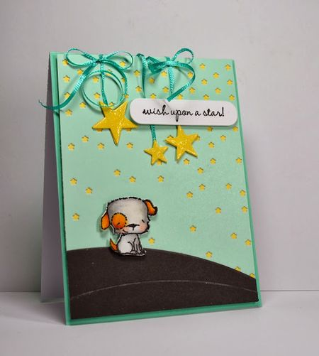 Kelly Booth - Puddles Card