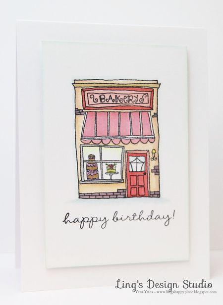 Vera Yates - Bakery Card