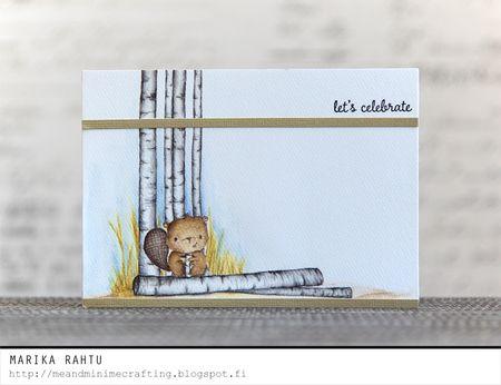 Marika Rahtu - Timber and birch Trees
