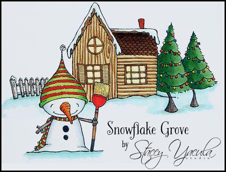 Snowflake Grove Banner