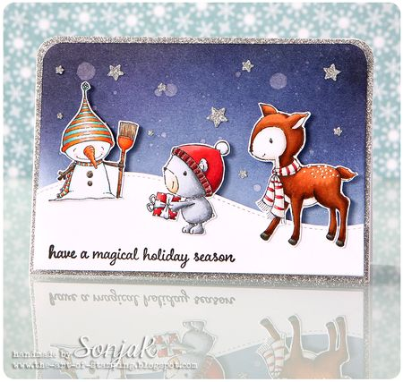 Sonja Kerkhoffs - Magical Season Card
