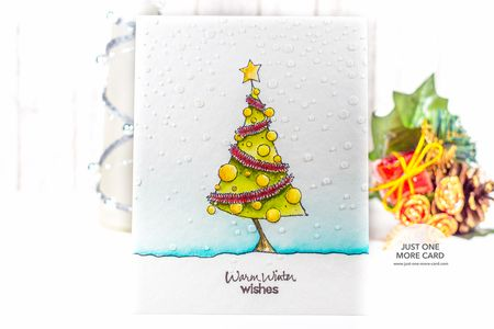 Julia Altermann - Christmas Tree Card