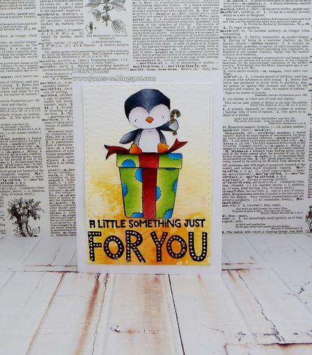 Debra James - Merry For You Card