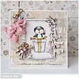 Susen Srb - Merry card