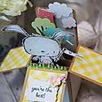 Sally On -Poppy Box Card I