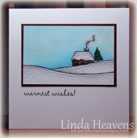 Linda Heavens - Snow Cabin
