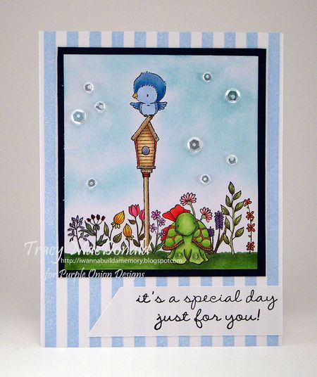 Tracy MacDonald - May Garden Blooms Card