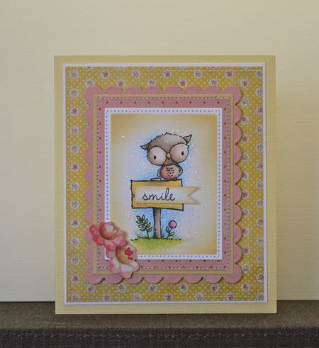 Paula Williamson - Shadow Smile Card
