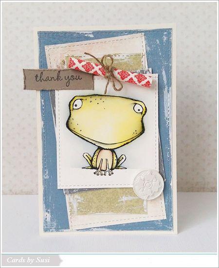 Susen Srb - Freckles Card