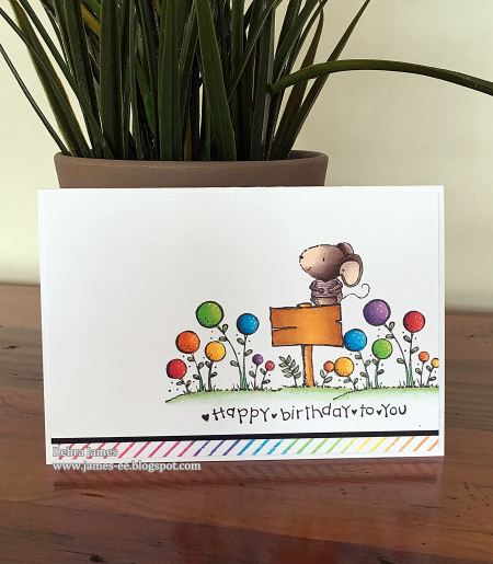 Debra James - Charlotte Happy Birthday to You Card