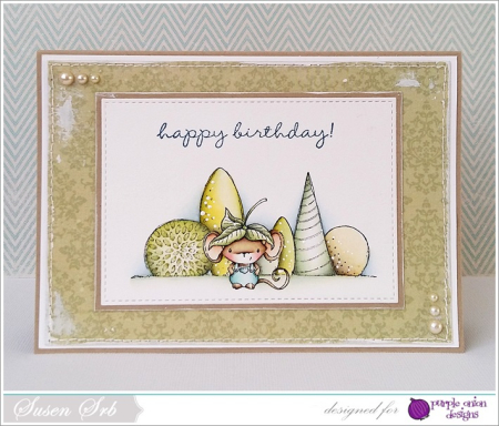 Susen Srb - Happy Birthday Elliot Card