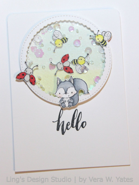 Vera Yates - Chip Hello Card