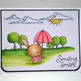 Tracy MacDonald - Willa Sending Smiles Card