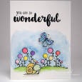 Tracy MacDonald - Tuker and Blooms you are so wonderful card