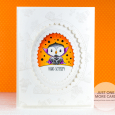 Julia Altermann - Halloween Owl Card