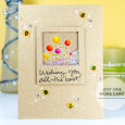 Julia Altermann - Blooms Starry Shaker Card-1