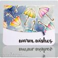 Sonja Kerkhoffs - Umbrella Warm Wishes Card