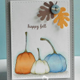 Nancy Thomas -POD Happy Pumpkins Happy Fall Card