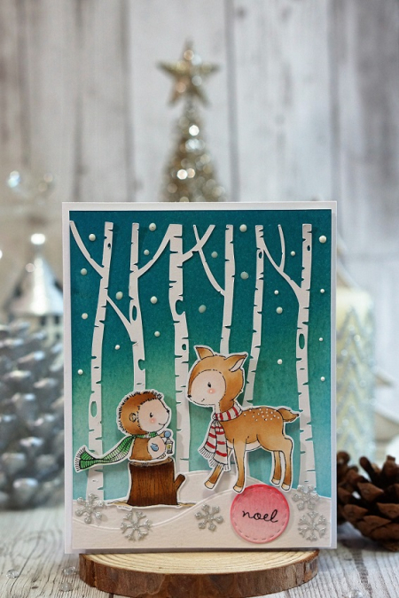 Sally On - Forrest and Meadow Card