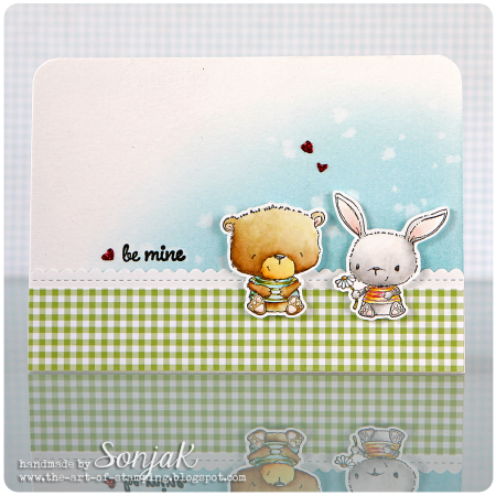 Sonja Kerkhoffs - Johnny and Chloe Be Mine Card